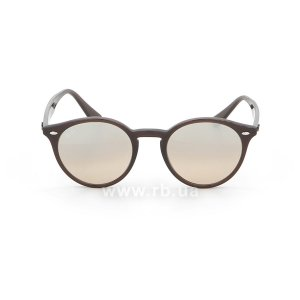 Очки Ray-Ban Highstreet RB2180-6231-3D Dark Brown | Light Brown, вид спереди