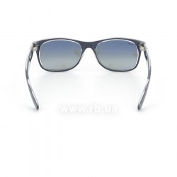 Очки Ray-Ban New Wayfarer Color Mix RB2132-6053-71 Matt Blue On Crystal | Grey Gradient 24
