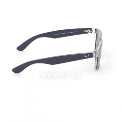 Очки Ray-Ban New Wayfarer Color Mix RB2132-6053-71 Matt Blue On Crystal | Grey Gradient 36