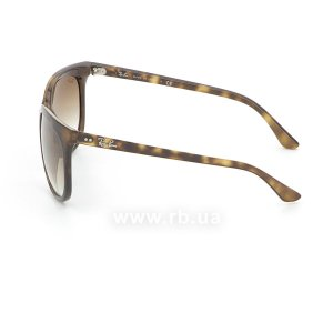 Очки Ray-Ban Cats 1000 RB4126-710-51 Shiny Avana/Faded Brown, вид слева
