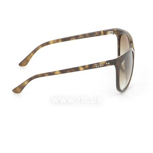 Очки Ray-Ban Cats 1000 RB4126-710-51 Shiny Avana/Faded Brown, вид справа