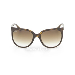 Очки Ray-Ban Cats 1000 RB4126-710-51 Shiny Avana/Faded Brown, вид спереди