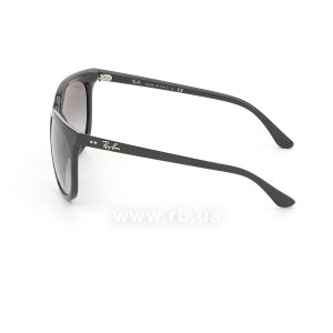 Очки Ray-Ban Cats 1000 RB4126-601-32 Black | Gradient Grey, вид слева