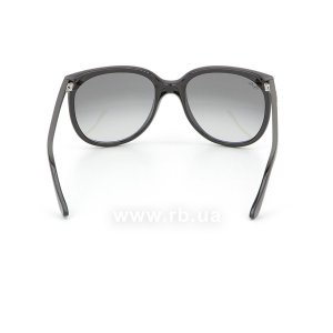 Очки Ray-Ban Cats 1000 RB4126-601-32 Black | Gradient Grey, вид сзади
