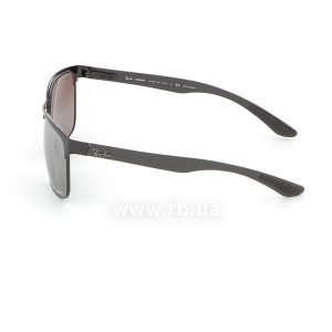 Очки Ray-Ban Chromance RB8319CH-186-5J Black  | Silver Mirror Chromance Polarized, вид слева
