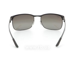 Очки Ray-Ban Chromance RB8319CH-186-5J Black  | Silver Mirror Chromance Polarized, вид сзади