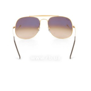 Очки Ray-Ban The General RB3561-9001-A5 Dark Arista | Faded Brown, вид сзади