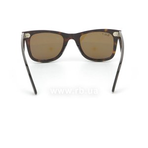 Очки Ray-Ban Original Wayfarer RB2140-902-57 Dark Havana | Natural Brown Polarized, вид сзади