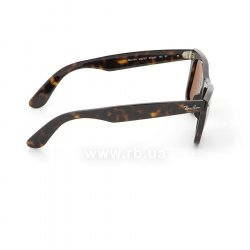 Очки Ray-Ban Original Wayfarer RB2140-902-57 Dark Havana | Natural Brown Polarized 36