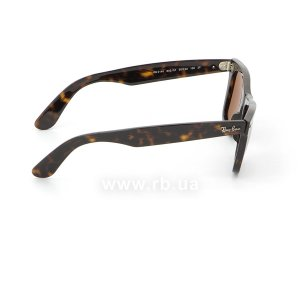 Очки Ray-Ban Original Wayfarer RB2140-902-57 Dark Havana | Natural Brown Polarized, вид справа