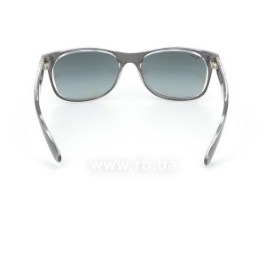 Очки Ray-Ban New Wayfarer Color Mix RB2132-6143-71 Matt GreyOn Crystal | Grey Gradient, вид сзади