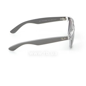 Очки Ray-Ban New Wayfarer Color Mix RB2132-6143-71 Matt GreyOn Crystal | Grey Gradient, вид справа