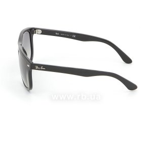 Очки Ray-Ban Boyfriend RB4147-601-32 Black | Gradient Grey, вид слева