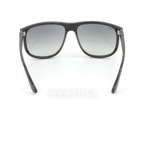 Очки Ray-Ban Boyfriend RB4147-601-32 Black | Gradient Grey, вид сзади