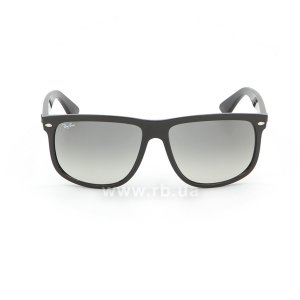 Очки Ray-Ban Boyfriend RB4147-601-32 Black | Gradient Grey, вид спереди