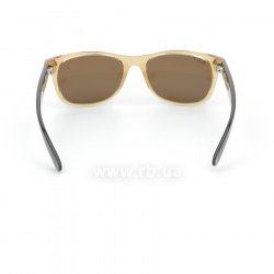 Очки Ray-Ban New Wayfarer RB2132-945-57 Honey | Natural Brown Polarized, вид сзади