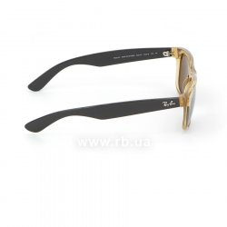 Очки Ray-Ban New Wayfarer RB2132-945-57 Honey | Natural Brown Polarized, вид справа