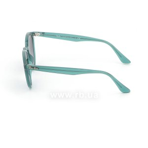 Очки Ray-Ban Highstreet RB2180-6164-8G Green | Gradient Grey/Blue, вид слева
