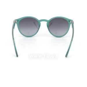 Очки Ray-Ban Highstreet RB2180-6164-8G Green | Gradient Grey/Blue, вид сзади