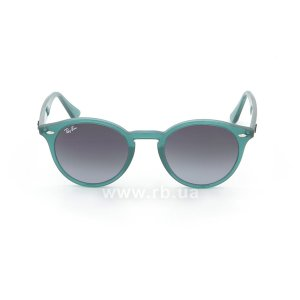 Очки Ray-Ban Highstreet RB2180-6164-8G Green | Gradient Grey/Blue, вид спереди
