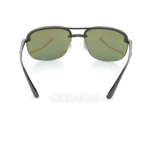 Очки Ray-Ban Chromance RB4275CH-601-A1 Black | Violet Blue Polarized, вид сзади