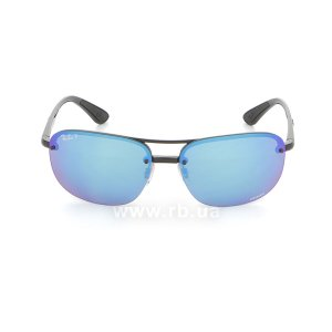 Очки Ray-Ban Chromance RB4275CH-601-A1 Black | Violet Blue Polarized, вид спереди