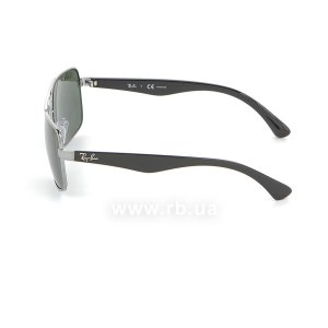 Очки Ray-Ban Active Lifestyle RB3483-004-58 Gunmetal | Natural Green Polarized, вид слева