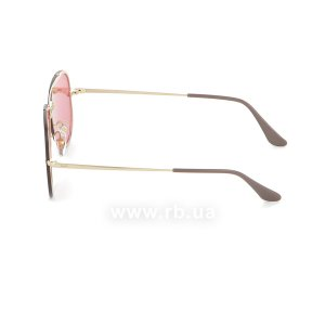 Очки Ray-Ban Blaze Aviator RB3584N-9052-E4 Arista | Pink Mirror, вид слева