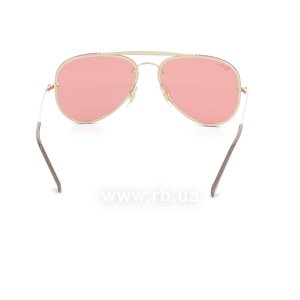 Очки Ray-Ban Blaze Aviator RB3584N-9052-E4 Arista | Pink Mirror, вид сзади