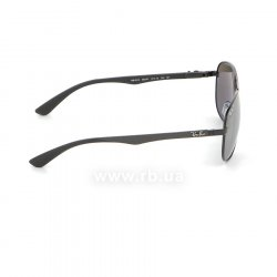Очки Ray-Ban Carbon Fibre RB8313-002-K7 Black | APX Silver Gradient  Mirror Polarized 36