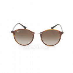 Очки Ray-Ban Round II LightRay RB4242-6201-13 Brown| APX Brown Gradient 48