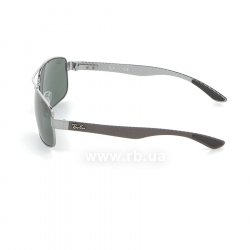 Очки Ray-Ban Carbon Fibre RB8316-004 Gunmetal Carbon| Natural Green (G-15 XLT) 12