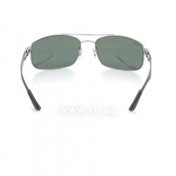 Очки Ray-Ban Carbon Fibre RB8316-004 Gunmetal Carbon| Natural Green (G-15 XLT) 24