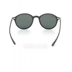 Очки Ray-Ban Liteforce Round RB4237-601S-58 Matt Black/Grey | Natural Green Polarized 24