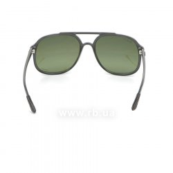 Очки Ray-Ban Chromance RB4312CH-876-6O Black | Green Polarized Mirror, вид сзади