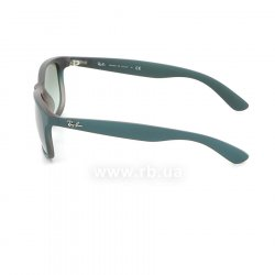 Очки Ray-Ban Andy RB4202-6368-8E Turquoise / Vinous   | Gradient Green, вид слева