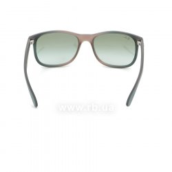 Очки Ray-Ban Andy RB4202-6368-8E Turquoise / Vinous   | Gradient Green, вид сзади
