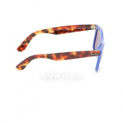 Очки Ray-Ban Original Wayfarer Pop RB2140-1241-W0 Blue / Havana | Purple Polarized, вид справа