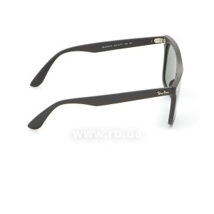 Очки Ray-Ban Blaze Wayfarer RB4440N-601S-71 Matt Black | Green / Grey, вид справа