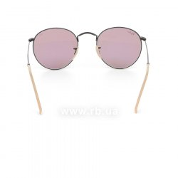 Очки Ray-Ban Round Metal Evolve RB3447-9066-Z0 Black | Purple Photocromic 24