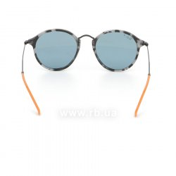 Очки Ray-Ban Round Fleck Pop RB2447-1246-52 Grey / Havana Milk | Grey Polarized, вид сзади