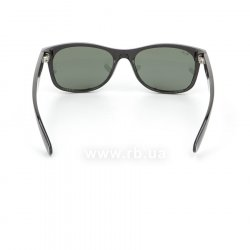Очки Ray-Ban New Wayfarer RB2132-901 Black/Natural Green (G-15XLT), вид сзади