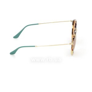 Очки Ray-Ban Round Fleck Pop RB2447-1244-N9 Havana / Arista|  Yellow Polarized, вид справа