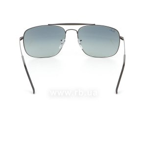 Очки Ray-Ban The Colonel RB3560-002-71 Black | Grey Gradient, вид сзади
