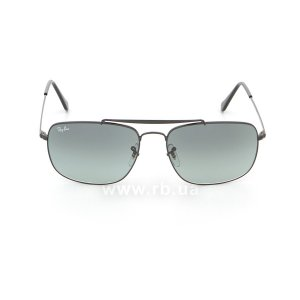 Очки Ray-Ban The Colonel RB3560-002-71 Black | Grey Gradient, вид спереди