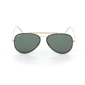 Очки Ray-Ban Blaze Aviator RB3584N-9050-71 Arista | Grey/Green, вид спереди