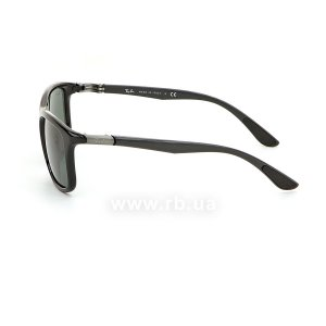 Очки Ray-Ban Active Lifestyle RB8352-6219-71 Black / APX Grey/Green, вид слева