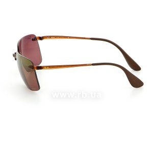 Очки Ray-Ban Chromance RB4255-604-6B Havana | Brown Gradient Polarized, вид слева