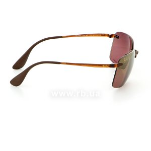 Очки Ray-Ban Chromance RB4255-604-6B Havana | Brown Gradient Polarized, вид справа