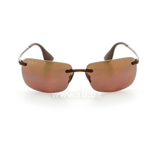 Очки Ray-Ban Chromance RB4255-604-6B Havana | Brown Gradient Polarized, вид спереди